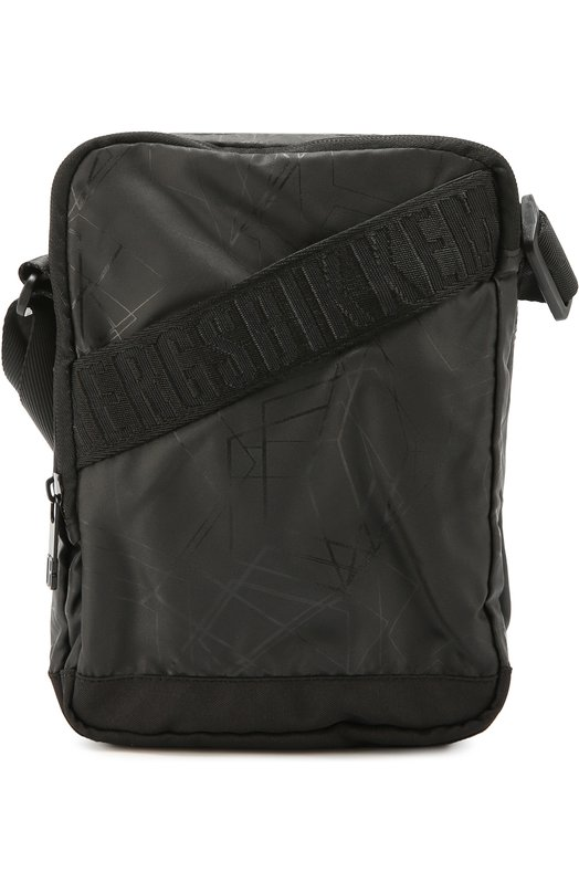 Текстильная сумка-планшет с декоративными ремешками Dirk Bikkembergs 6BD4203