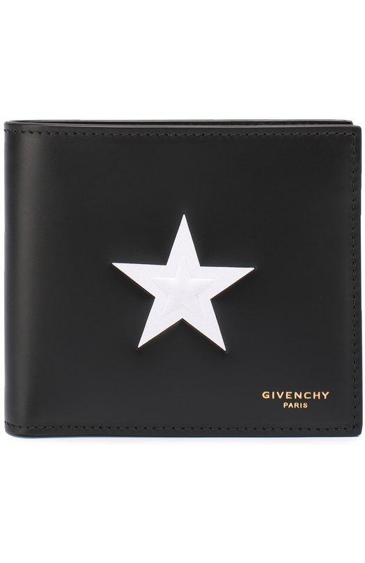 Кожаное портмоне с отделением для кредитный карт Givenchy BK0/6021/266