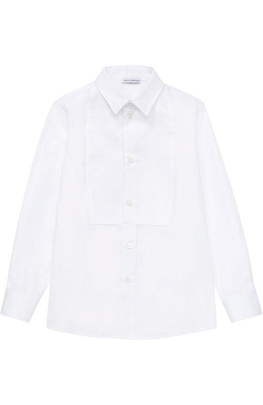 Рубашка из хлопка Dolce & Gabbana 0131/L42S03/FU5GK/2-6