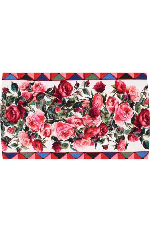 Бандана с принтом Dolce & Gabbana 0131/LN3H17/FS53A