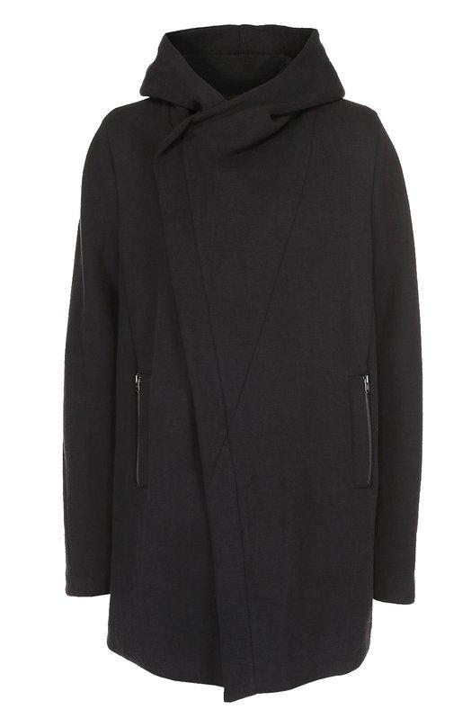 Хлопковое пальто с добавлением шерсти и шелка Lost&Found 417.271