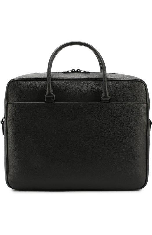 Кожаный портфель с плечевым ремнем Saint Laurent 440984/B680U