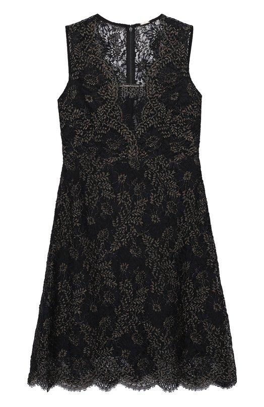 Кружевное мини-платье без рукавов Elie Tahari EN02D606