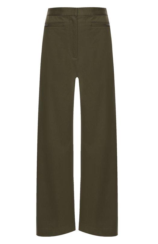 Укороченные широкие брюки с завышенной талией T by Alexander Wang 403716R17