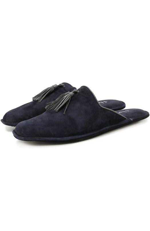 Домашние замшевые туфли с кисточками Homers At Home 17931/ANTE