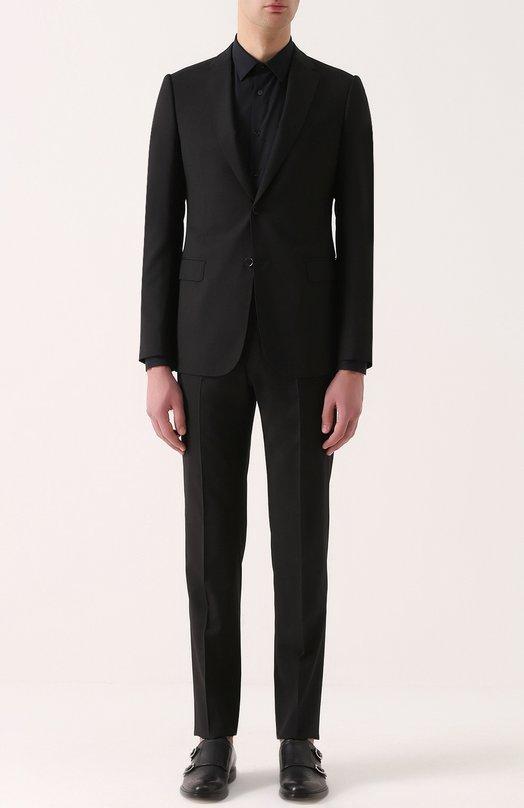 Шерстяной приталенный костюм Armani Collezioni VCVMEB/VC239