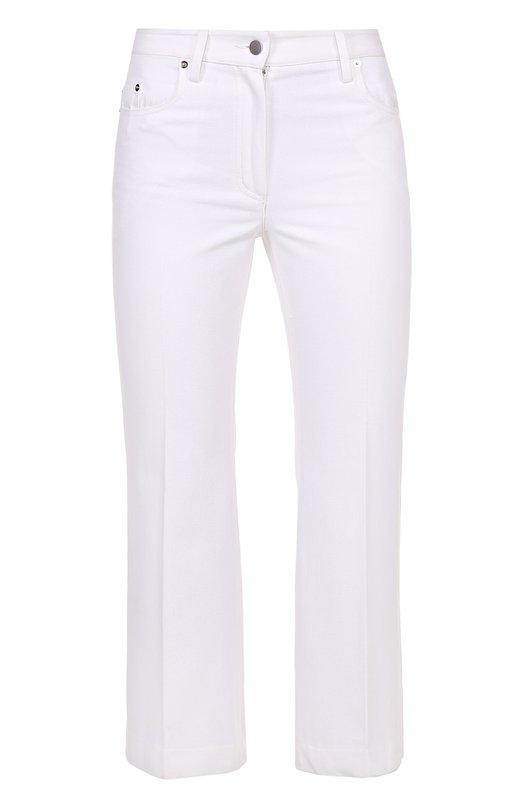 Укороченные расклешенные джинсы со стрелками Calvin Klein Collection W71P003/WC036