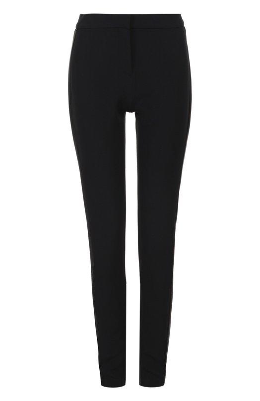 Облегающие брюки с контрастными лампасами Tom Ford PAW059/FAX105
