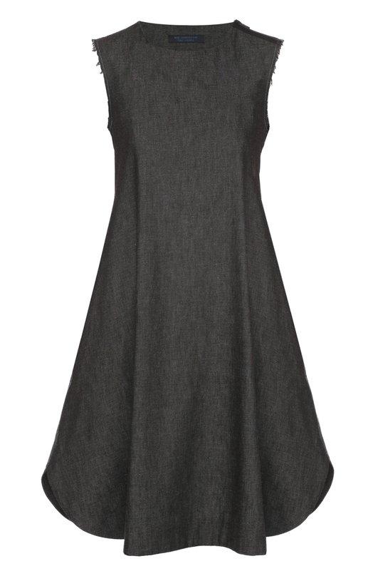 Джинсовое платье свободного кроя без рукавов Yohji Yamamoto FX-D52-001