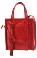 Сумка Bazar Shopper XS Chinese New Year Balenciaga красная | Фото №1