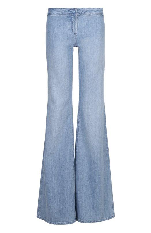 Расклешенные джинсы с карманами Balmain 5347/348N