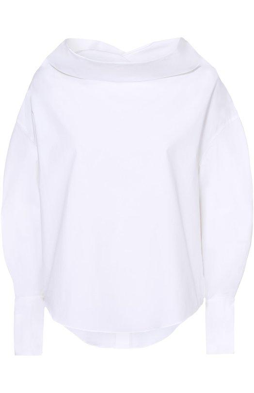 Блуза свободного кроя с воротником-хомут Emilio Pucci 71/RN30/71679