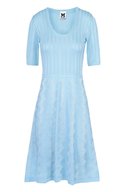 Приталенное платье-миди с укороченным рукавом M Missoni MD3KD0V6/2D4