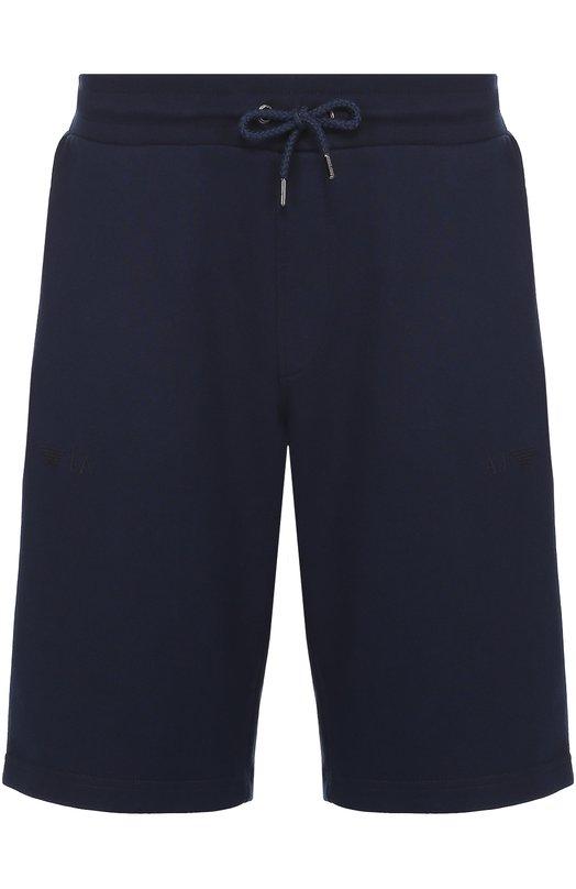Хлопковые шорты свободного кроя Armani Jeans 8N6S83/6J07Z