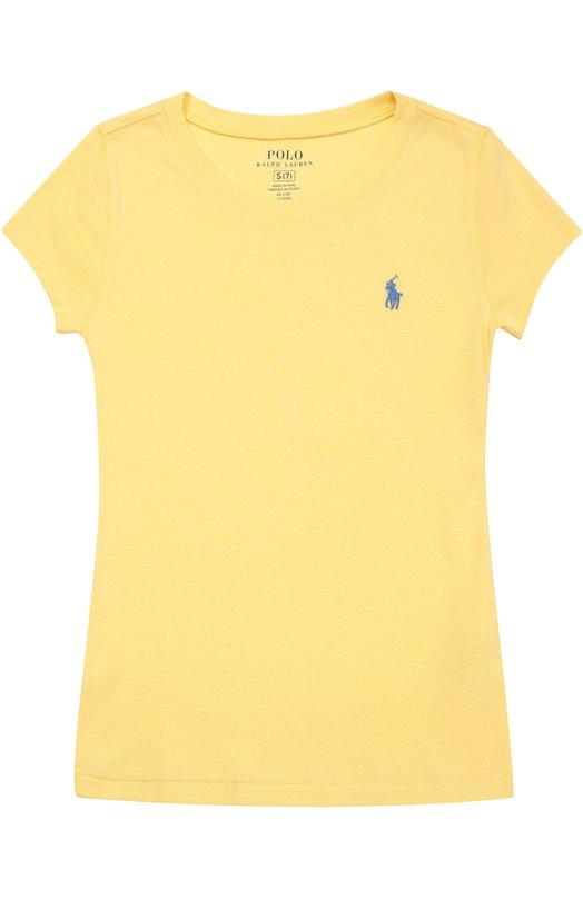 Футболка джерси с логотипом бренда Polo Ralph Lauren G10/XZ1L5/XY1L5