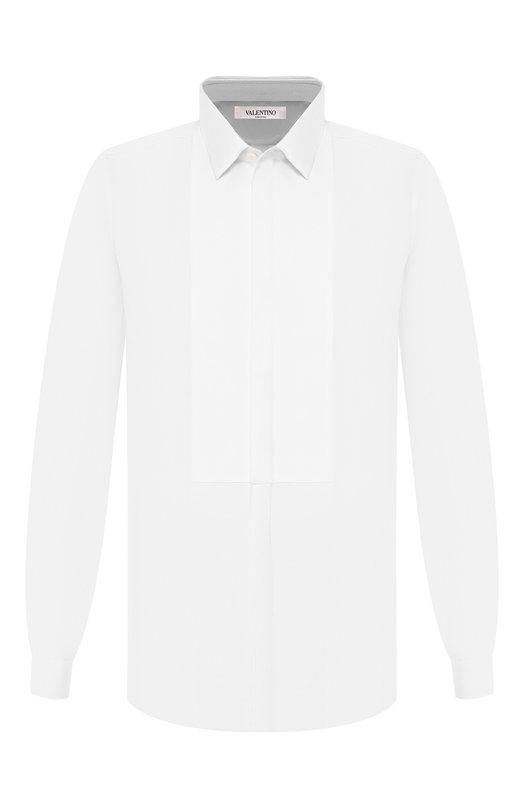 Хлопковая сорочка под смокинг Valentino LV3ACR8C/3GU