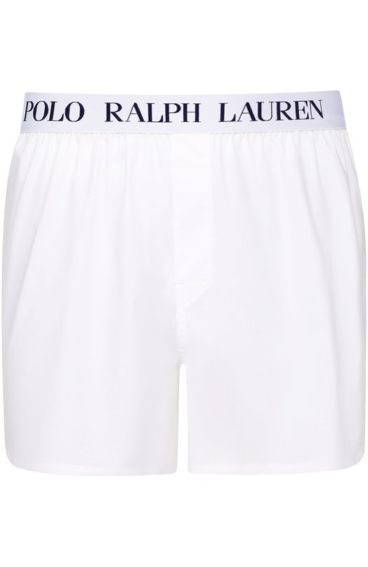 Хлопковые боксеры свободного кроя Polo Ralph Lauren, 255/XZ484/XY484, Китай, Белый, Хлопок: 97%; Эластан: 3%;  - купить