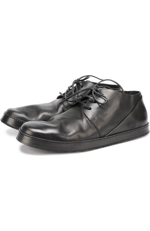 Кожаные ботинки с круглым мысом Marsell MM2342/VIT.DRIED