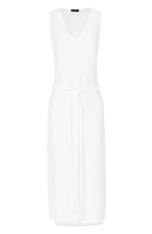 Платье-миди без рукавов с поясом Joseph S7/155/058292