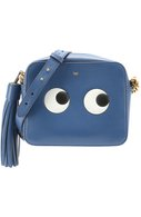 Сумка Eyes Cross-Body Anya Hindmarch синяя | Фото №1