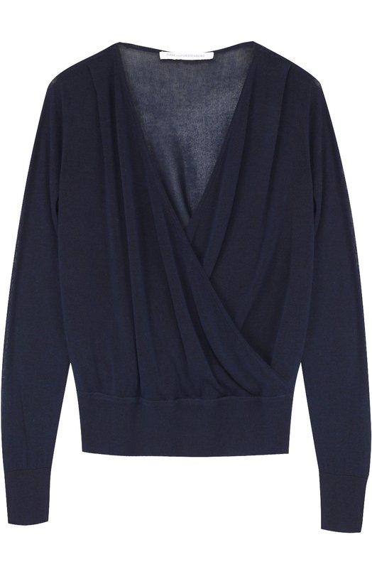 Пуловер с запахом и эластичным поясом Diane Von Furstenberg S996301U16