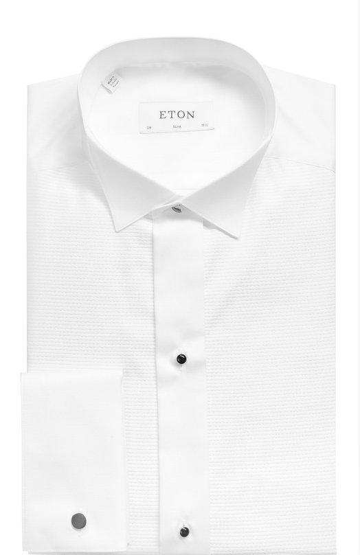 Хлопковая сорочка под смокинг с воротником бабочка Eton 0464 33510