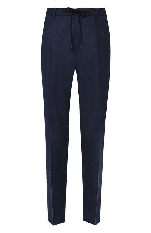 Шерстяные брюки прямого кроя Kenzo F665PA2261RF