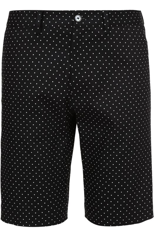 Хлопковые шорты с узором Polka Dot Dolce & Gabbana 0101/G6YHMT/FSFCT
