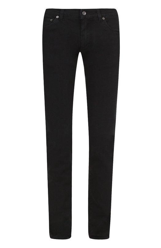 Джинсы-скинни с вышивкой на кармане Dolce & Gabbana 0101/G6X0LZ/G8U53