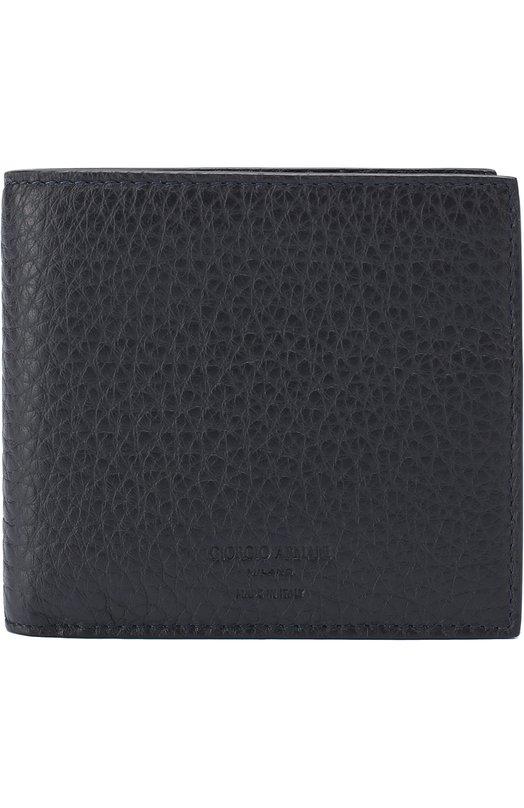 Купить Кожаное портмоне с отделениями для кредитных карт и монет Giorgio Armani Италия 5133511 Y2R122/YAG3E