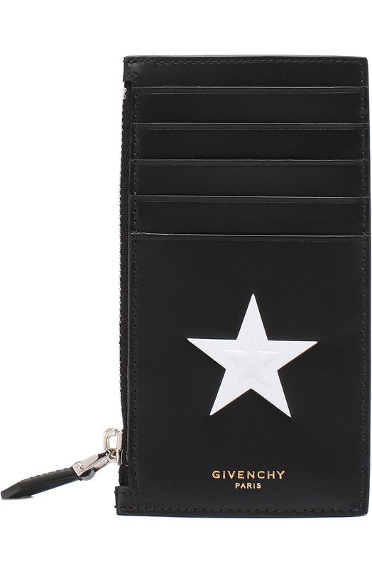 Кожаный футляр для кредитных карт с отделением для монет Givenchy BK0/6049/266