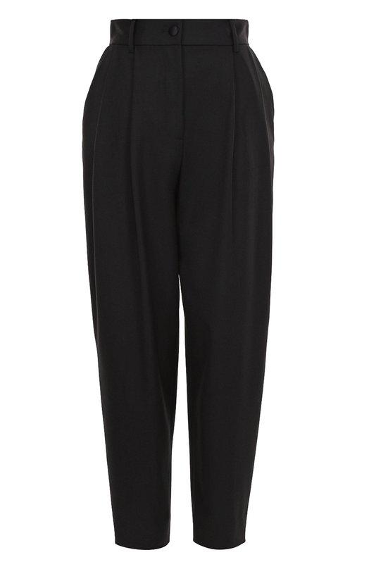 Укороченные брюки-бананы с защипами Dolce & Gabbana 0102/FTANRT/FUCCS