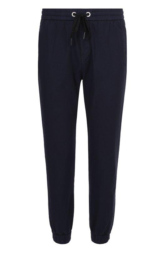 Хлопковые брюки прямого кроя с манжетами на резинке Iceberg I1P/B150/0412