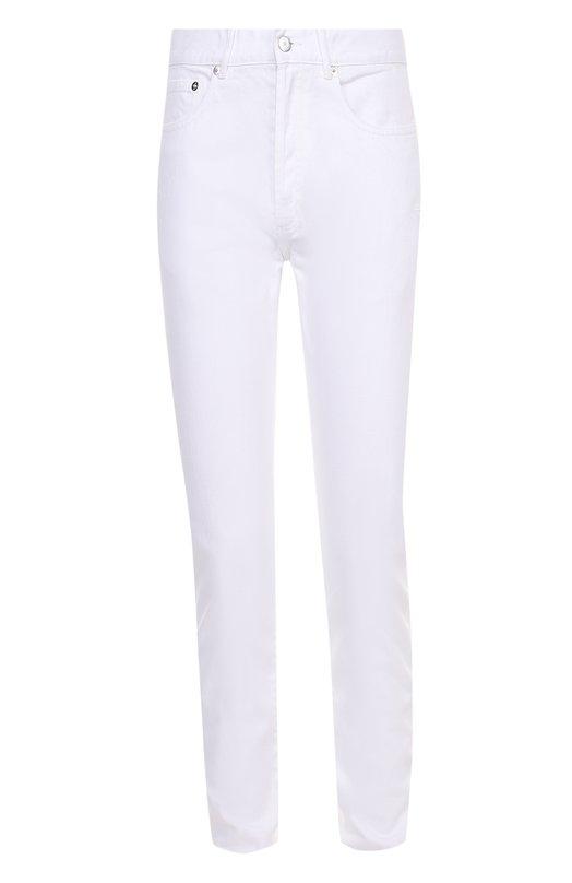Джинсы прямого кроя с нашивками в виде звезд Givenchy 17S/0909/466