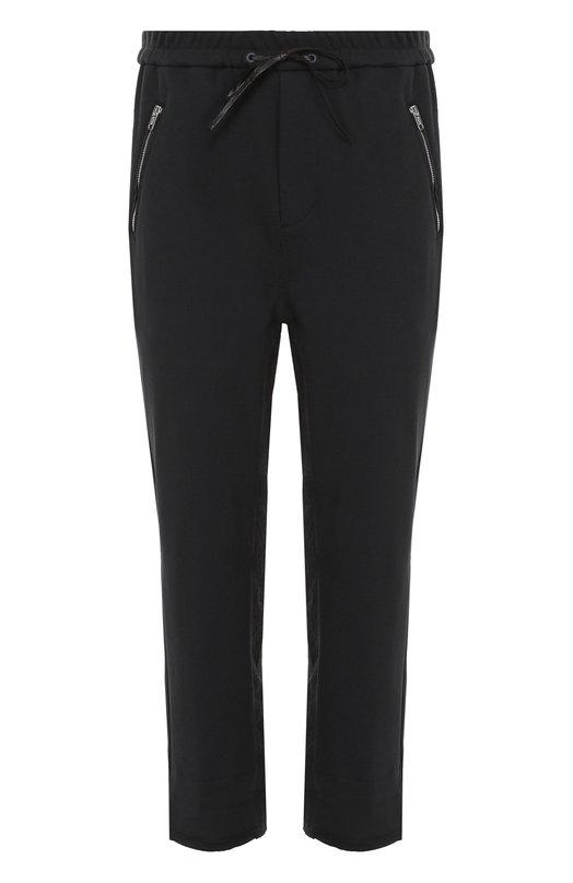 Хлопковые брюки прямого кроя с заниженной линией шага и необработанным краем 3.1 Phillip Lim S171-5570FTYM