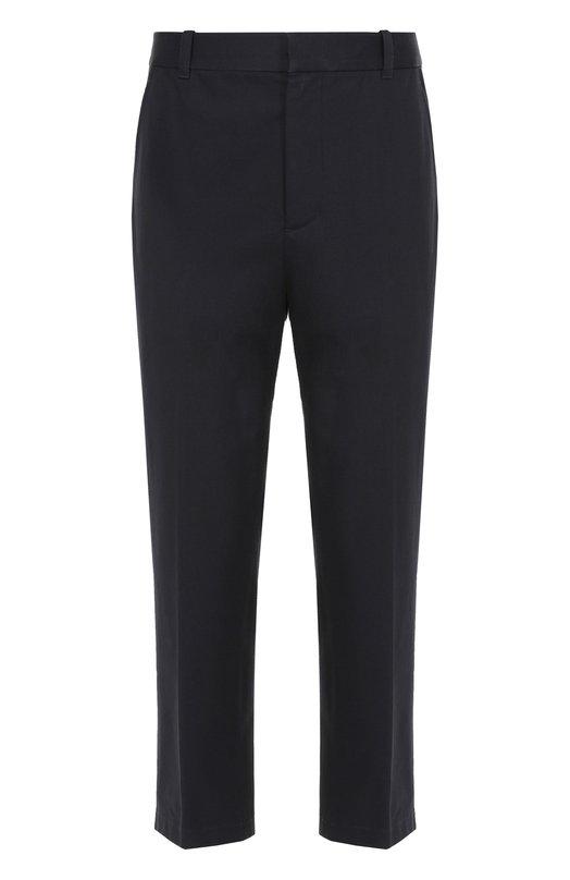 Хлопковые брюки прямого кроя с заниженной линией шага 3.1 Phillip Lim S171-5920SDIM
