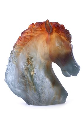 Скульптура Horse Head Daum #color# | Фото №1