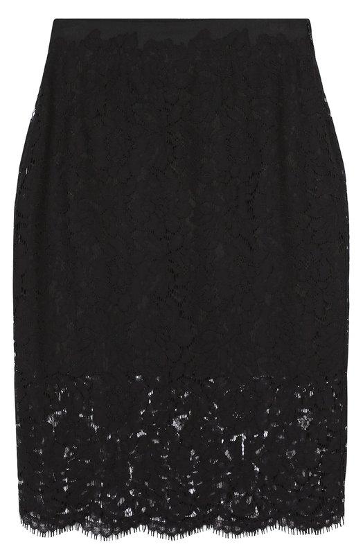 Кружевная юбка-карандаш с завышенной талией Diane Von Furstenberg S897601D16
