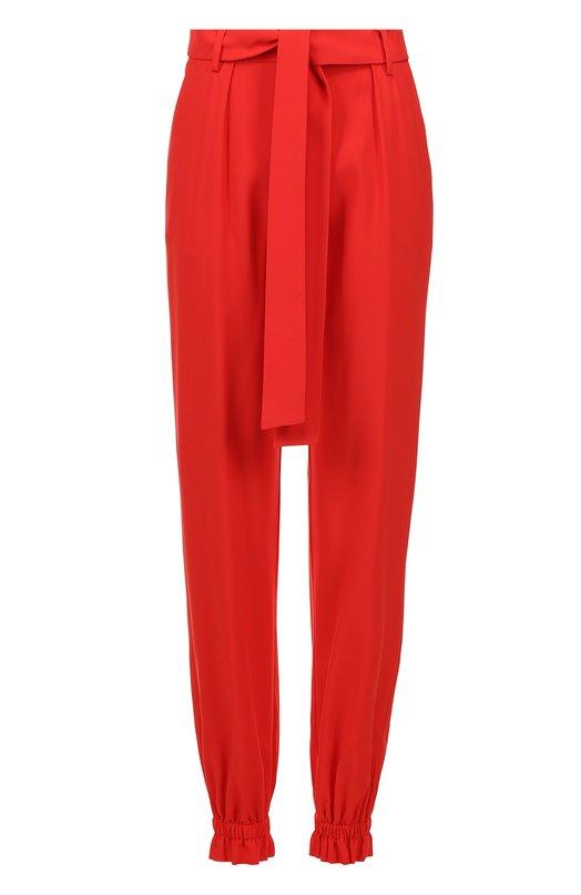 Укороченные брюки с манжетами и поясом MSGM 2241MDP26/174105