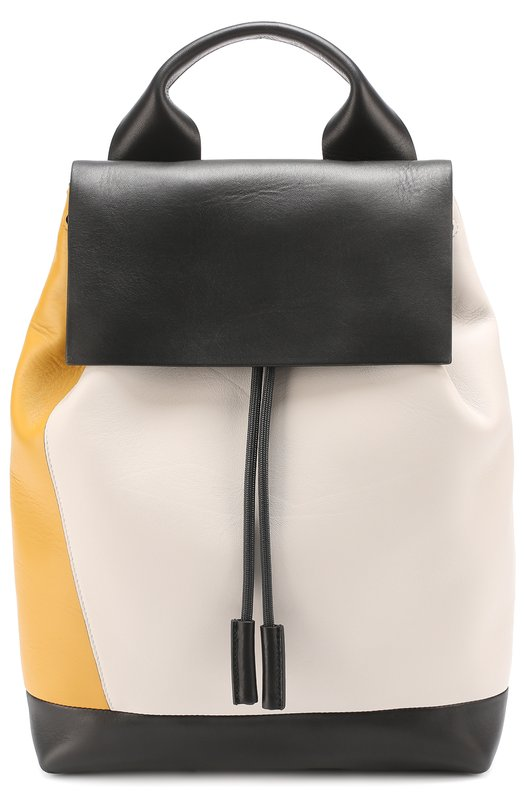 Рюкзак Pod из комбинированной кожи Marni ZAMPV03U00LA553