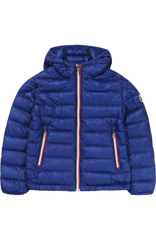 Пуховая куртка с капюшоном Moncler Enfant C1-954-41820-99-53279/4-6