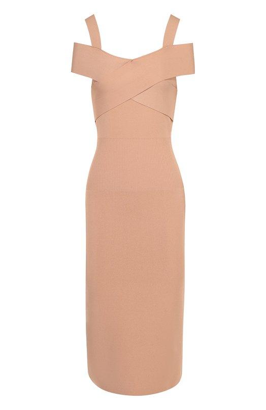 Платье-футляр с открытыми плечами Tom Ford ACK148/YAX090