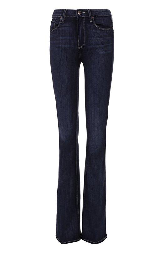 Расклешенные джинсы с контрастной прострочкой Paige 1594521-3584