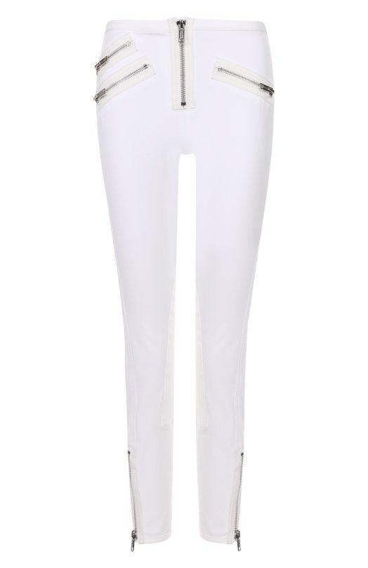 Укороченные джинсы-скинни с декоративными молниями 3.1 Phillip Lim E171-5315SCM
