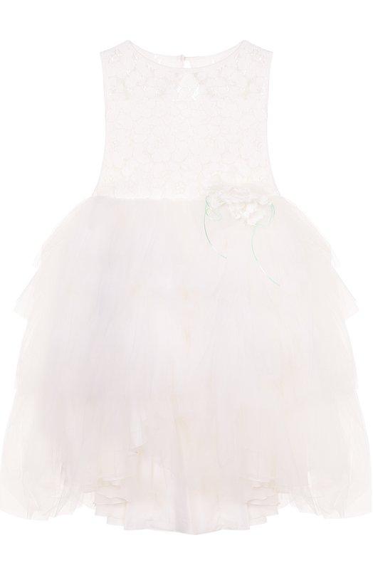 Платье с пышной юбкой и кружевной отделкой Aletta AP77013/4-8