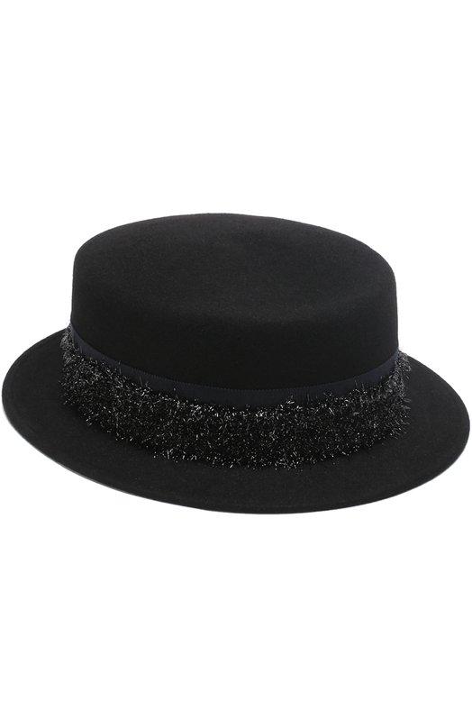 Фетровая шляпа Auguste Maison Michel 1011015001/AUGUSTE