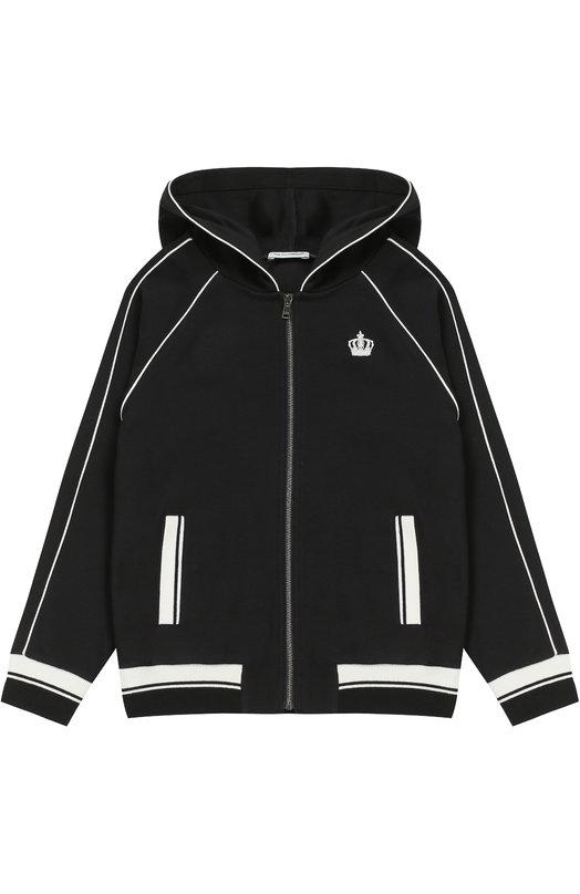 Спортивный кардиган с капюшоном Dolce & Gabbana 0131/L4JWZ4/G7JVZ/2-6