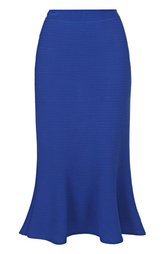 Расклешенная юбка-миди фактурной вязки Giorgio Armani 3YAN03/AM44Z