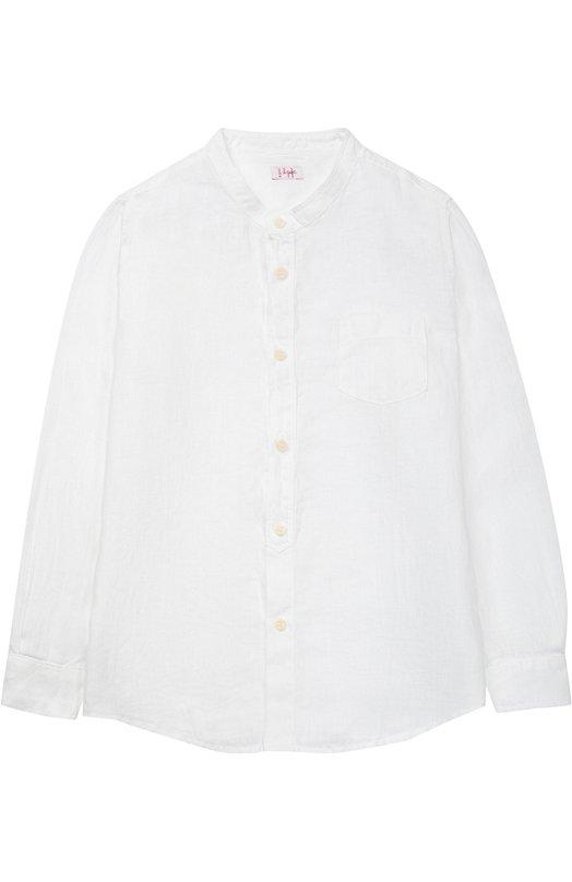 Классическая рубашка из льна Il Gufo P17CL016/L6006/5-8