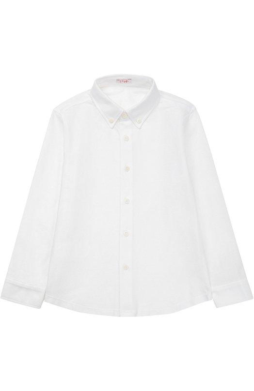Рубашка из хлопка с отложным воротником Il Gufo P17CL126/M0082/2-4
